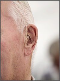Invisible hearing aids