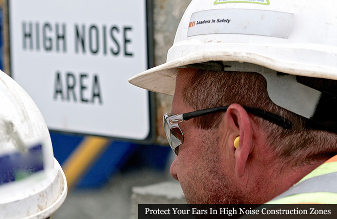 Construction Worker Hearing Protection