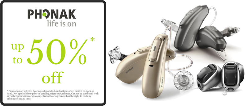 Get Up To 50% Off on Phonak Hearing Aids
