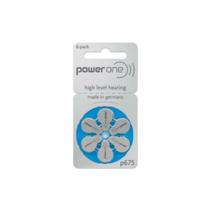Power One – Size 13 Zinc Air Hearing Aid Batteries