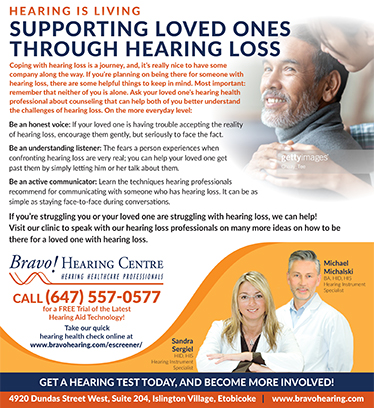 Supporting Your Loved Ones Through Hearing Loss